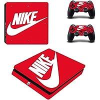 PS4 slim スリム  専用スキンシールΓスポーツ ナイキ Nike 」 本体用 + コントローラー用 × 2枚 ノーブランド 0102 [並行輸入品]