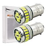 【ベルライト】BELLELiGHT BA9s LEDバルブ 3014チップ 24連 2個セット (24連ホワイト (BA9s))