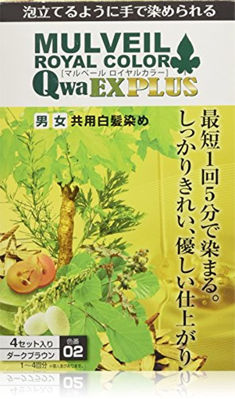 書店ダッシュリールマルベールロイヤルカラー EXプラス ダークブラウン [医薬部外品]