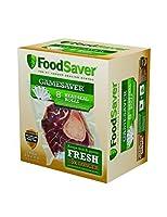 "FoodSaver GameSaver 6-Pack, 8"" x 20' Long Rolls (FSGSBF0544-P00)"