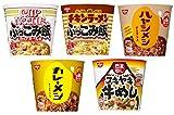 日清 カレーメシ・ハヤシ・ぶっこみ飯・牛めし 5種類各1個入り 5個  詰め合わせ