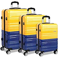 Wanderlite Luggage Suitcase Trolley Set TSA Travel Carry On Bag Hard Case Lightweight