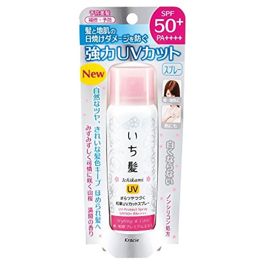 スポークスマンリットル可塑性いち髪 さらツヤつづく和草UVカットスプレー 50g