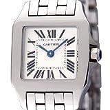 腕時計 サントスドゥモアゼル ホワイト W25064Z5 レディース カルティエ画像②
