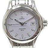 [オメガ]OMEGA レディース腕時計 シーマスター120 2581.84 2Pダイヤ シェル文字盤【中古】