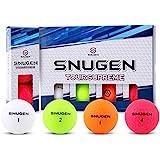 Snugen (TM) Soft Feel Distance Golf Ball, Long Distance Tour Ball,12 Pack Balls