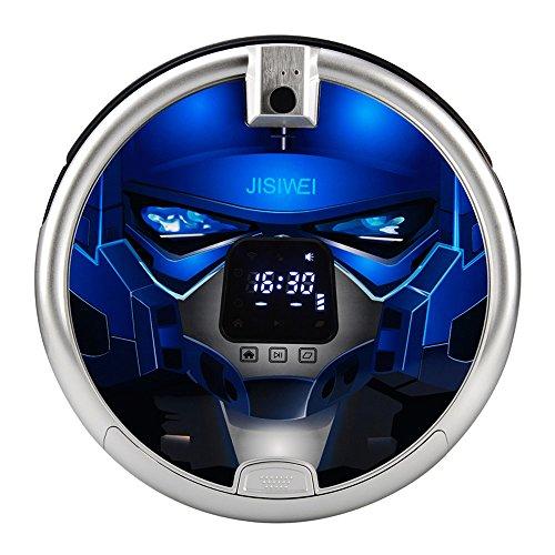 JISIWEI S+ 自動掃除機 自動ロボット掃除機 内置1080Pカメラ WiFi赤外線/ APPリモートコントロール付き [並行輸入]