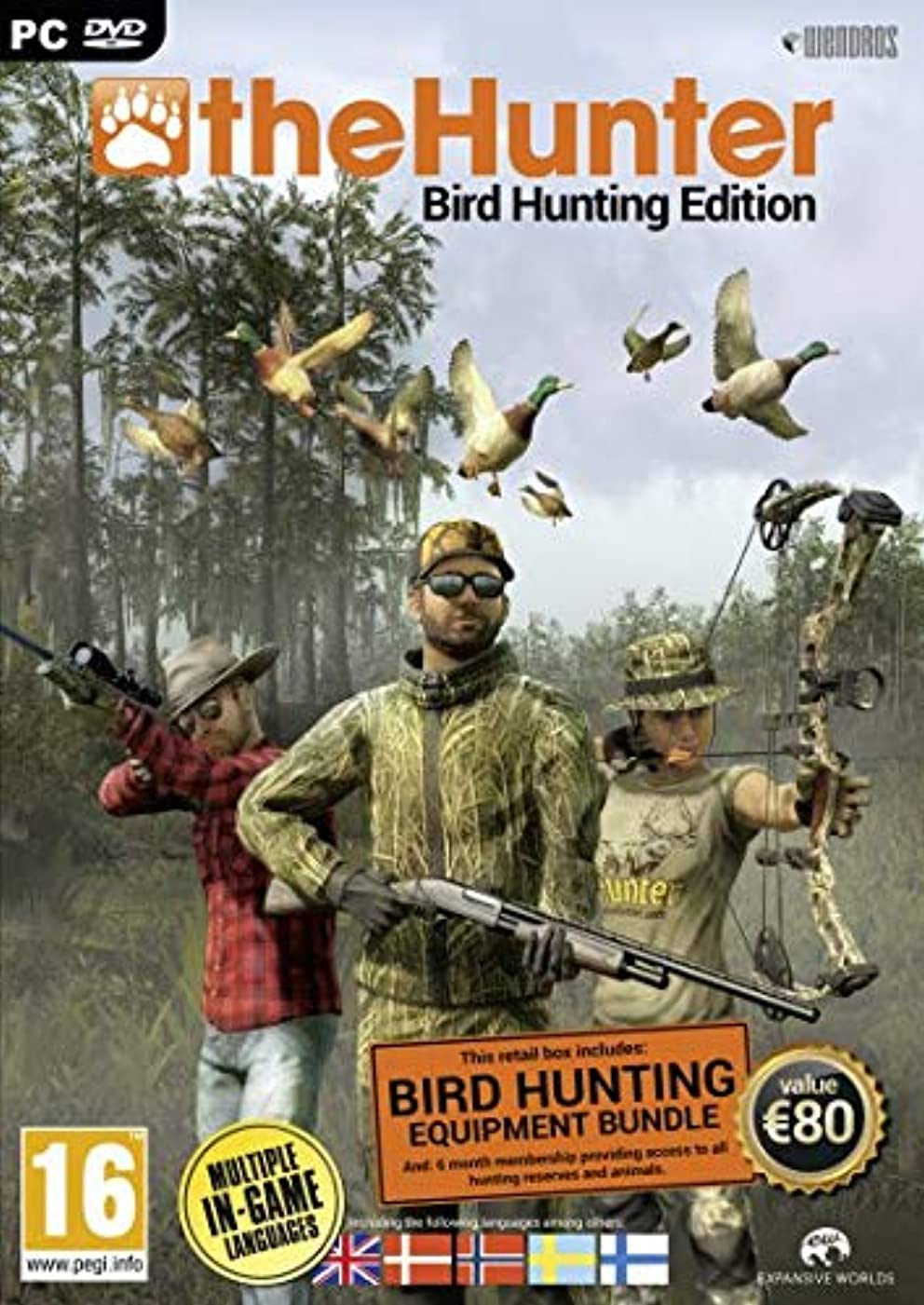 尾接触完璧なtheHunter Bird Hunting Edition (PC DVD) (輸入版)