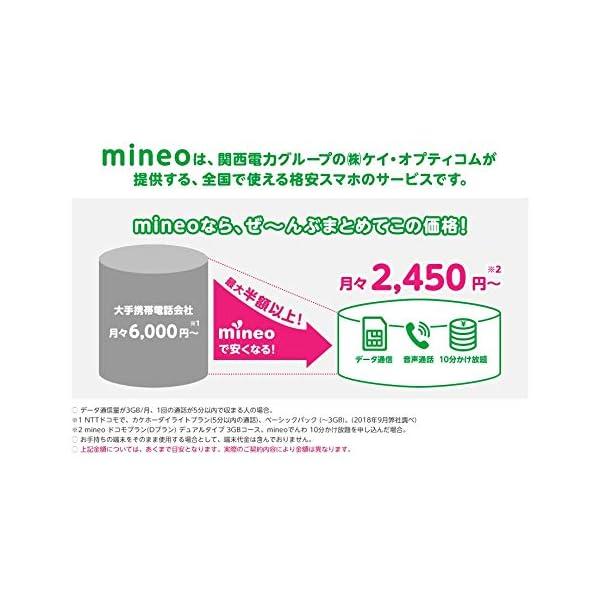 契約事務手数料3000円が無料になるmineo...の紹介画像2