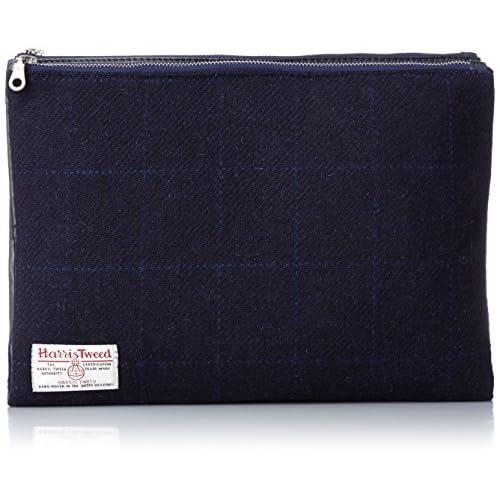 [シップスジェットブルー] SHIPS JET BLUE JB:RV CLUTCH BAG HARRIS 128480043 78 (Navy2/One-Size)
