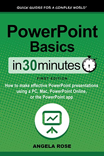 amazon co jp powerpoint basics in 30 minutes in 30 minutes series