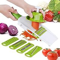 SUJESI スライサー 野菜カッター 安全 千切り キャベツ きゅうり 玉ねぎ ジャガイモ 人参 千切り器 野菜調理器