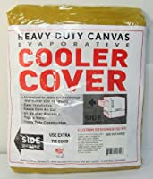 42W x 45D x 28H Side Draft Heavy Duty Canvas Cover for Evaporative Swamp Cooler (42 x 45 x 28) by Brian's Canvas Products