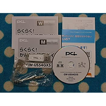 PLANEX IEEE802.11b+g WLAN USBアダプタ GW-US54GXS
