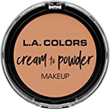 L.A. COLORS Cream To Powder Foundation - Shell (並行輸入品)