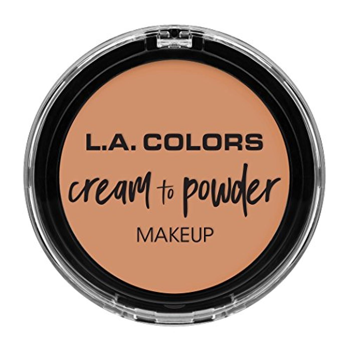 ステージマウントバンク美的L.A. COLORS Cream To Powder Foundation - Shell (並行輸入品)