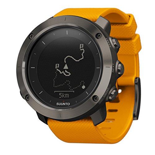 SUUNTO TRAVERSE (スント トラバース) スマートウォッチ GPS 登山 気圧計 [日本正規品] SS021844000 アンバー