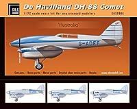 SBS モデル 1/72 スケール デ・ハビランド DH-88 コメット - フル樹脂キット - オーストラリア - 7006