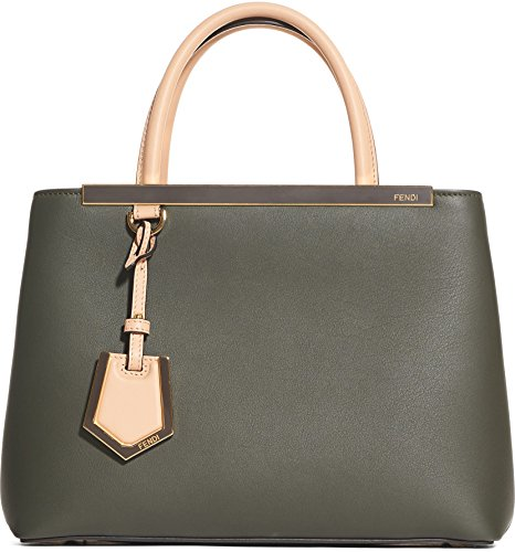 (フェンディ FENDI women`s Petite 2Jours Leather Shopper Petite 2Jours Leather Shopper(並行輸入)