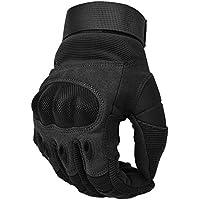COTOP Motorcycle Gloves, Screen Touch Hard Knuckle Gloves Motorcycle Gloves Motorbike ATV Riding Full Finger Gloves for Men