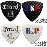 【2色各3枚 計6枚セット】ESP PA-LT10-Tricolour L'Arc~en~Ciel TETSUYA ソロデビュー15周年記念 ピック