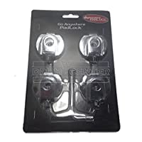DW Accessories : Pad Lock For Go Anywhere Kit 4 Pack W Key [並行輸入品]