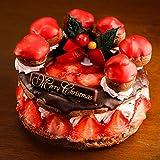 クリスマスケーキ 2018 チョコレートケーキ イチゴづくしのダブルショコラパリブレスト5号サイズ ギフト プレゼント 予約