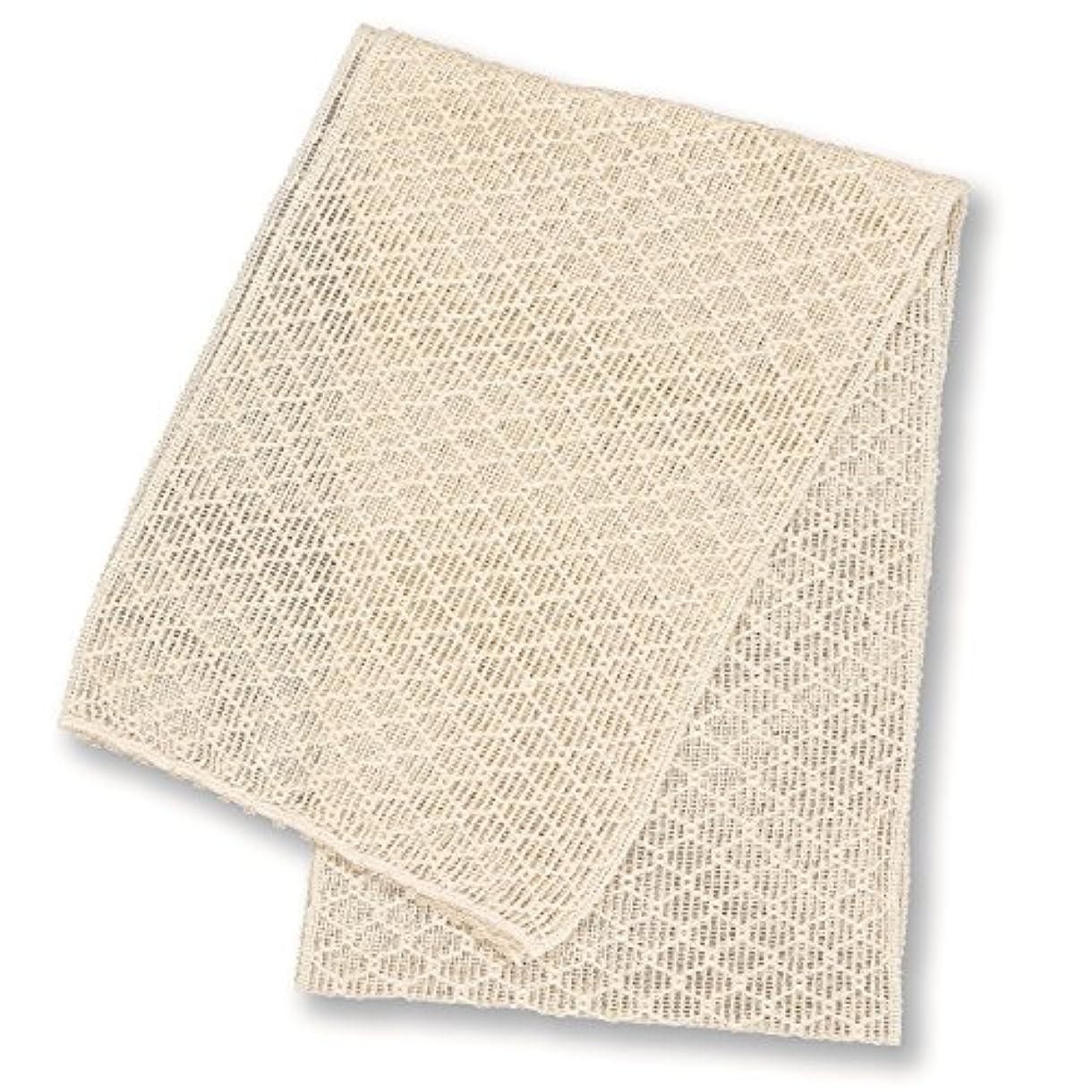 キルス高層ビル頼るコクーンフィット シルク 美容洗浄タオル(浴用) オフホワイト
