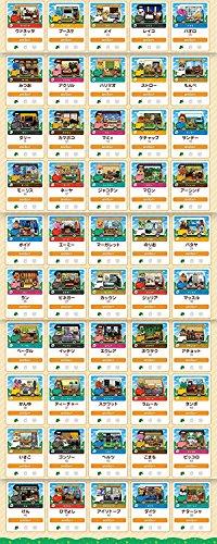 とびだせ どうぶつの森 amiibo+ カード 全50種類 フルコンプ セット
