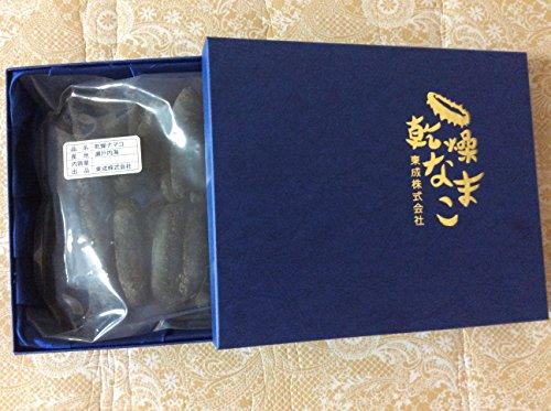 【化粧箱入関西産真っ黒保証乾燥なまこ】 500G30個前後入 LLサイズA級品