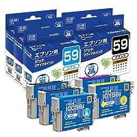エプソン インク EPSON プリンターインク IC5CL59 5本 パック 対応 ジット リサイクルインク インクカートリッジ エプソン 日本製