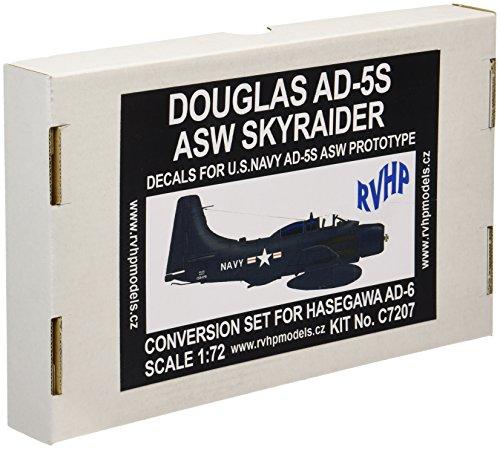ビーバーコーポレーション 1/72 AD-5S スカイレイダー  米海軍  レジンコンバージョンw/デカール  ハセガワAD-6用