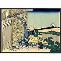 葛飾北斎 ポスター 富嶽三十六景 グッズ 浮世絵 雑貨 インテリア 絵画 美術 アート