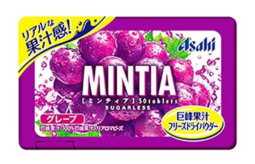 アサヒグループ食品 ミンティア グレープ 50粒×10個