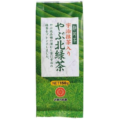 お茶の丸幸 宇治抹茶入り やぶ北緑茶 150g