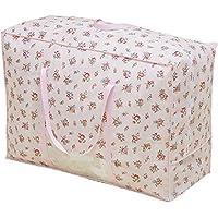 アストロ 羽毛布団収納ケース 持ち手付き 花柄 不織布製 大切な布団を湿気やホコリからガードします! 135-03