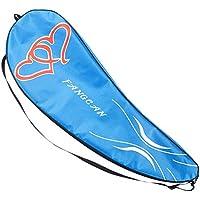 調整可能なショルダーストラップバドミントンラケットカバーバドミントンラケットバッグテニスバッグ(2ラケット)、c