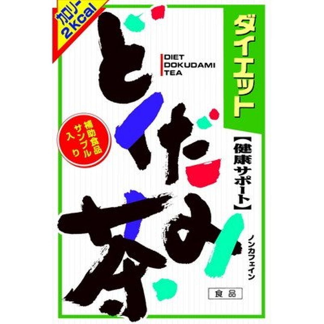段落魔術制限山本漢方 ダイエット どくだみ茶8G x 24H【2個セット】
