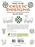 Ready-to-Use Celtic Designs: 96 Different Royalty-Free Designs Printed One Side (Dover Clip Art Ready-to-Use) 画像