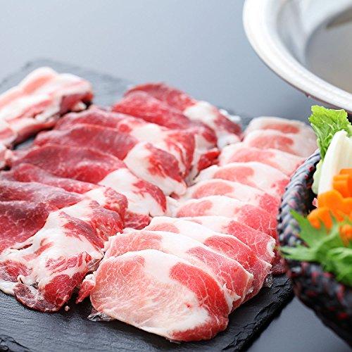 創業83年老舗肉屋が惚れた スペイン産 極上 イベリコ豚 しゃぶしゃぶ 肉 ギフト セット 計600g