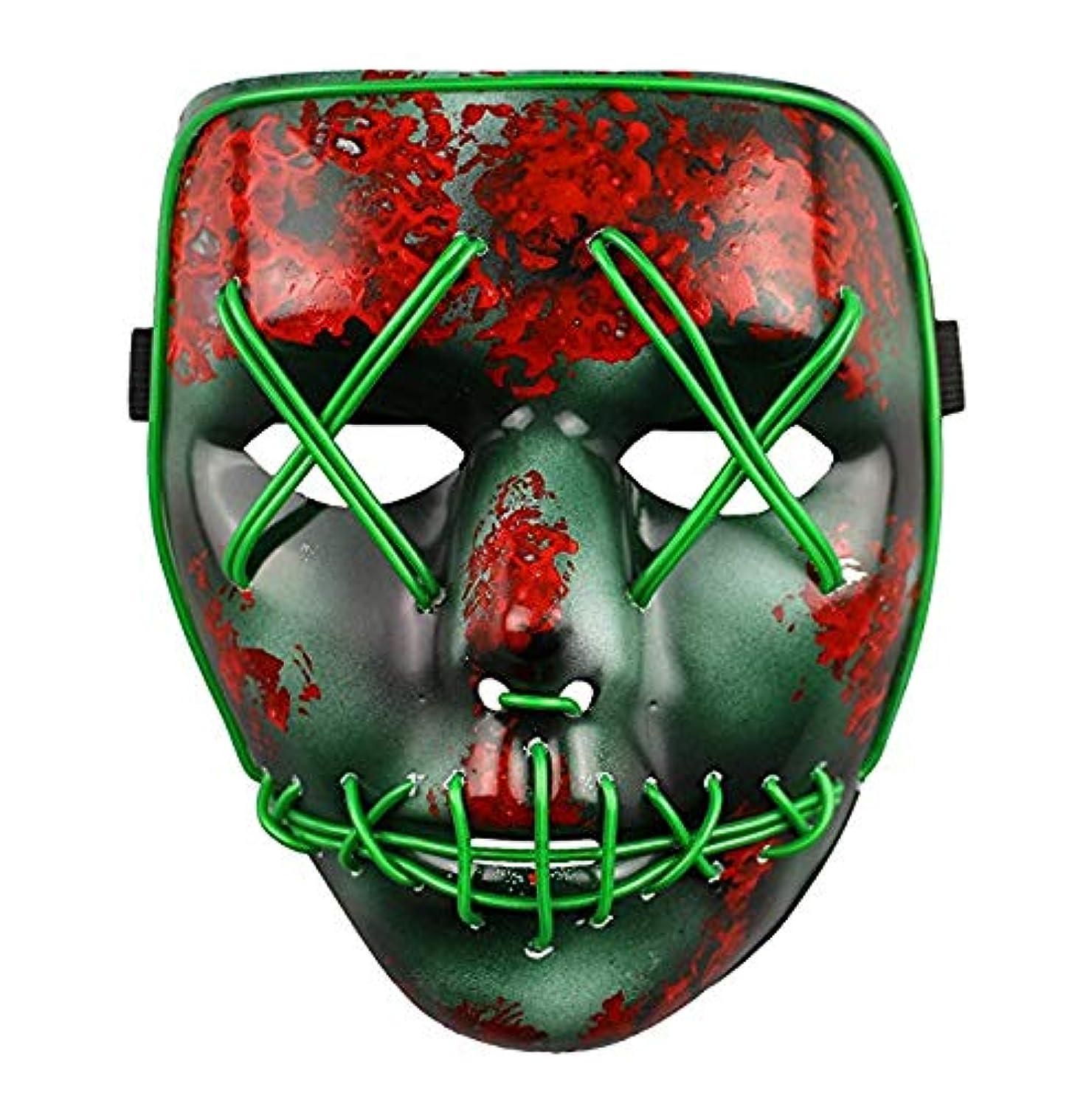 基本的な注意平行ライトアップマスクフェスティバルハロウィンコスチュームアダルトマスク