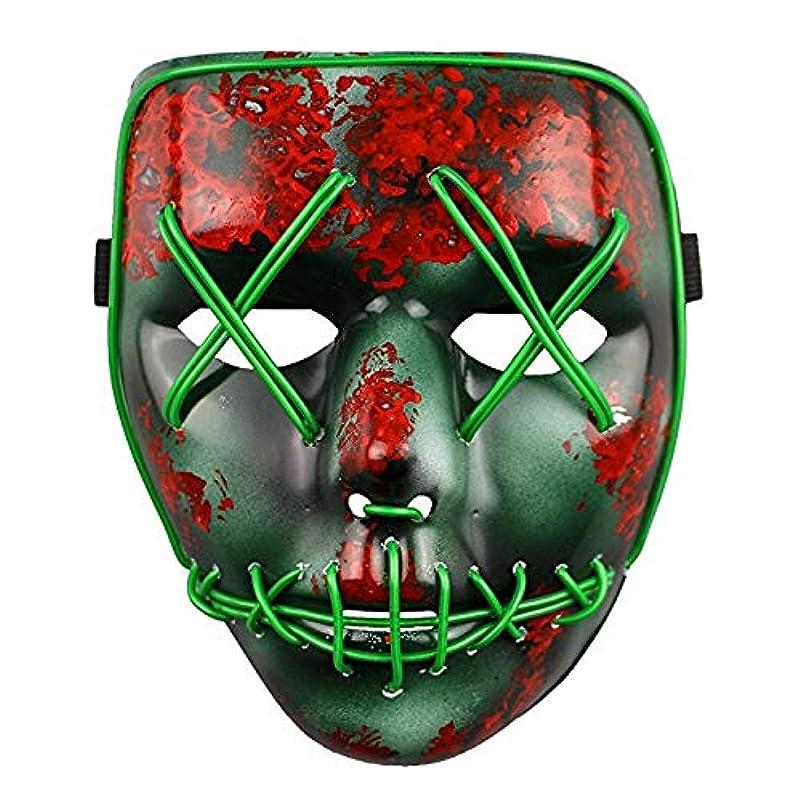 盟主バルブ夜の動物園ライトアップマスクフェスティバルハロウィンコスチュームアダルトマスク