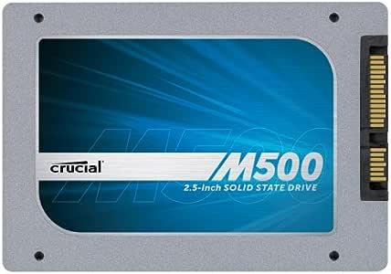 Crucial M500 内蔵型SSD 120GB 2.5インチ SATA6Gbps CT120M500SSD1