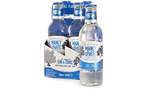 Manly Spirits Ready to Drink Australian Dry Gin Carton, 275 ml (Pack Of 24)