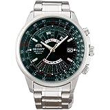 [オリエント時計] 腕時計 オリエント 自動巻 万年カレンダー 海外モデル SEU07007FX メンズ シルバー