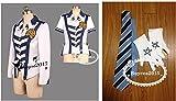 高品質コスプレ衣装(合皮)ダンスチームアルスマグナ戦闘服+マークオーダーサイズ可能