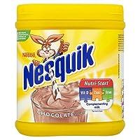 ネスクイックチョコレートミルクセーキ浴槽500グラム (x 4) - Nesquik Chocolate Milkshake Tub 500g (Pack of 4) [並行輸入品]