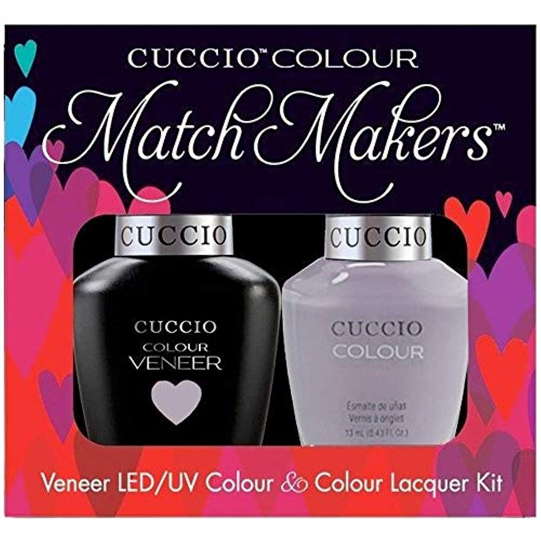 舗装するヒョウハーネスCuccio MatchMakers Veneer & Lacquer - Soul Surfer - 0.43oz / 13ml Each