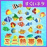 縁日すくい ミニ熱帯魚 (約50mm)100個入り  【ミニ熱帯魚】  / お楽しみグッズ(紙風船)付きセット [おもちゃ&ホビー]
