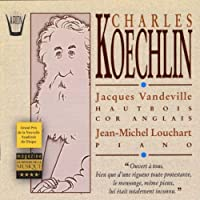 Koechlin;Pieces for Oboe